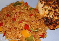 Slimming World Extra Easy Eating: Spicy Rice Slimming world / healthy eating / diet / weight loss Slimming World Recipes Extra Easy, Slimming World Dinners, Slimming World Diet, Slimming Recipes, Slimming Workd, Side Dish Recipes, Veggie Recipes, Diet Recipes, Vegetarian Recipes