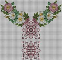 Gallery.ru / Фото #126 - схемы для вышиванок - zhivushaya