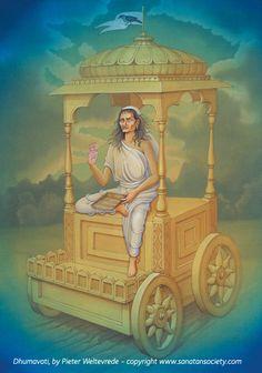 Maa Dhumavati-The Goddess of Dispelling evil & Unreal
