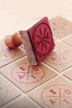 stamped cards