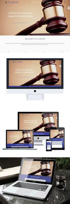 AT Lawyer is responsive Joomla template that targets for Law Firm websites. This is professional template to help people who have to handle simple civil legal Bootstrap Template, Joomla Templates, Joomla Themes, Browser Support, Responsive Layout, Google Fonts, Template Site, Professional Website, Business Website