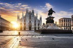 Duomo de Milán. Soñando con otros lugares: los 101 monumentos más famosos del mundo #viajes #travel #milan