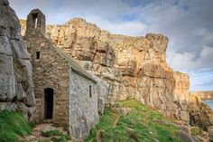 St. Govans Chapel, Wales