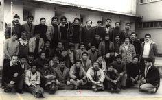 Prisioneros políticos recluidos en la cárcel pública de Santiago de Chile.