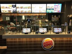 Seasam has delivered digital signage solutions to all Burger Kings in Finland