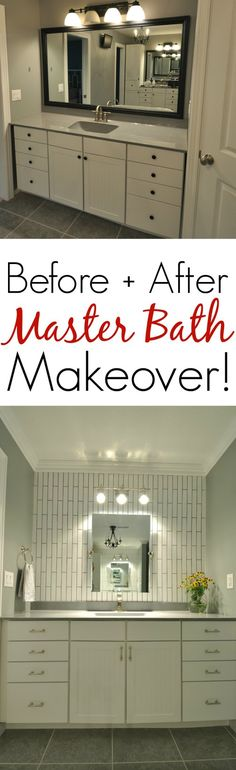 Beautiful Master Bathroom Makeover!