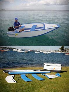 Foldable #boat - Quickboat