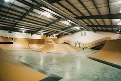 indoor skateboard park - Google Search