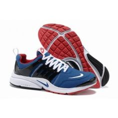 official photos 44d60 6b494 Beste Nike Air Presto V5 Leder Männer Schuhe Dunkelblau Schwarz Rot Schuhe  Online   Beliebt Nike