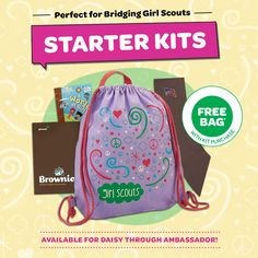 Is your Girl Scout bridging? Here's the perfect gift.