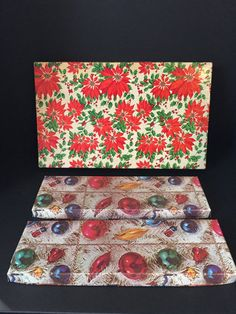 Lot of Vintage Christmas Boxes by 1006Osage on Etsy