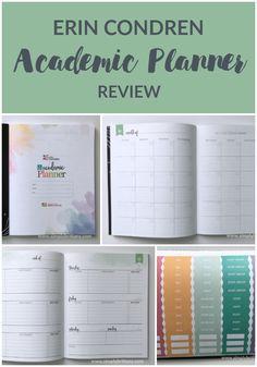 Get an inside look at the new @ErinCondren Academic Planner. #erincondren