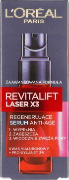 L'Oréal Paris, Revitalift Laser X3, serum regenerujące anti-age, 30ml, nr kat. 173157