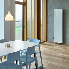 Vertical is the new black. Perfect for small apartments.