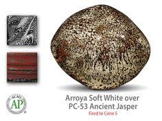 Arroyo Soft White over Ancient Jasper