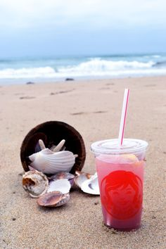 Taking it easy, collecting seashells and sipping on a Blueberry Pineapple FruiTea Chillers is high on my summer bucket list. #ad