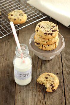 Chiarapassion: Cookies al cocco, zenzero e cioccolato