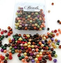 Amazon.com: 200pcs Mix Luster Glass Pearls Round 4mm - Fall Mix: Arts, Crafts & Sewing. $1.75