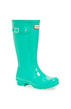 Hunter 'Original Gloss' Rain Boot (Little Kid & Big ...