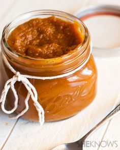 Homemade spiced pumpkin butter recipe
