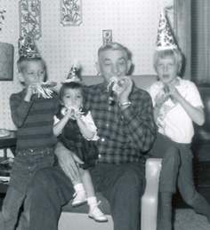 Party hats & birthday whistles! Never had a party without them. Does anyone use them any more?