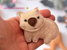 Australian animals for kids , Aussie animals, Australian animals felt , felt magnets - FeltTOYS