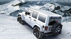 Jeep Wrangler Unlimited Arctic Edition in Bright White