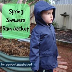 Sewing a Spring Showers Rain Jacket… in Autumn
