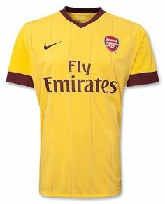 Arsenal FC Away Soccer Jersey 2010/11 Unknown. $59.99