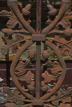 wrought iron door by DiscourseMarker, via Flickr
