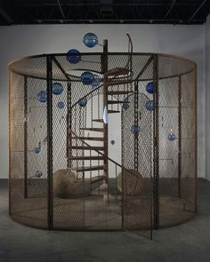 Louise Bourgeois: Cell (The last climb), 2008, Collection National Gallery of Canada, Ottawa. Photo: Christopher Burke © The Easton Foundation / VEGAP, Madrid