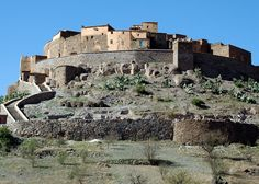 The Anti-Atlas is a mountain ranges lying in Morocco lying as part of the Atlas mountains.