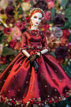 La Dolce Vita Dress for Fashion Royalty & por AquatalisBoutique