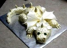 very cool dragon cake