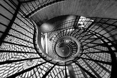 17 conceitos de escadas em espiral criativas | Criatives | Blog Design, Inspirações, Tutoriais, Web Design