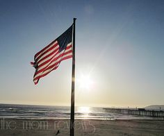 My grandfather used to raise this flag everyday! Pismo pier