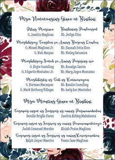 Secondary Sponsors' Page. Wedding Hacks, Wedding Crafts, Wedding Tips, Wedding Stuff, Wedding Planning, Dream Wedding, Filipiniana Wedding Theme, Wedding Dresses, Wedding Invitations Diy Handmade