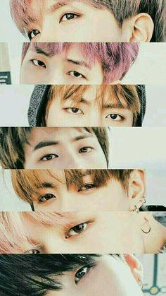 J-Hope,Rapmon,V,Jin,Jungkook,Jimin and Suga