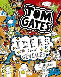 Me llamo Tom Gates y soy un genio, os quiero presentar mi cuarta aventura, mis Ideas (casi) geniales. Como siempre, mi compañero Marcus solo piensa chorradas y mi hermana Delia la está liando, en este libro ¡se tiñe el pelo de verde!  http://www.troa.es/libro/tom-gates-ideas-casi-geniales_676258    http://rabel.jcyl.es/cgi-bin/abnetopac?SUBC=BPSO&ACC=DOSEARCH&xsqf99=1705283+