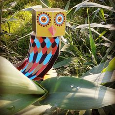 Meet our Owl Paper Toy. http://www.pukaca.com
