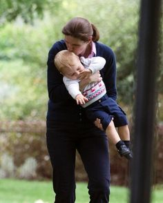 Prince George and his Nanny