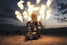 Victor Habchy revient du Burning Man Festival et nous offre des images d'un autre monde #voyagerloin