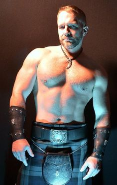 Kilts & cuffs, oh my!
