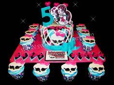 Monsters High Birthday Celebration! All edible.