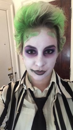 Beetlejuice inspired hairmake up pinteres solutioingenieria Image collections