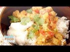 Roasted Indian Eggplant - Everyday Food with Sarah Carey
