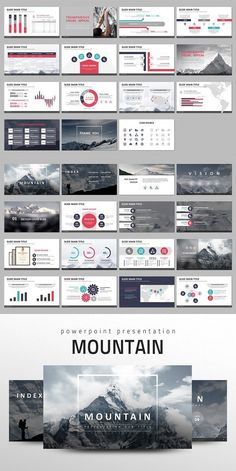 This 'Mountain PPT' is designed with the theme of 'mountain' and meant to be used for general business presentations. Template Free, Powerpoint Design Templates, Ppt Design, Slide Design, Booklet Design, Design Layouts, Flyer Template, Presentation Deck, Business Presentation