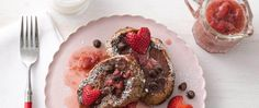Who says you can't have chocolate for breakfast, especially on Valentine's Day? This recipe adds extra-special chocolate yumminess to a familiar favorite. Treat your loved ones to an indulgent morning meal, which can be prepped the night before and ready to go in the oven the next morning!