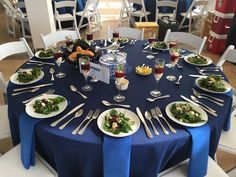 Beautiful Table for Seated Event - JBOH Catered Events -  www.jimbentonhouston.com