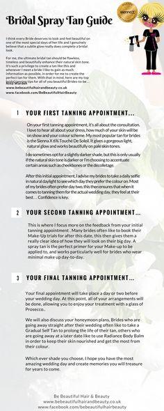 Bridal Spray Tan Guide